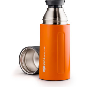 GSI Glacier SS Vacuum Bottle 500ml orange